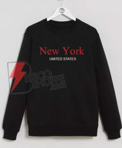 New York United States Sweatshirt On Sale