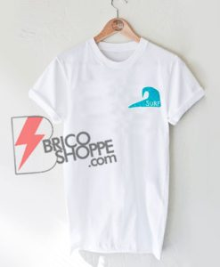 Surf Blue Wave T-Shirt On Sale