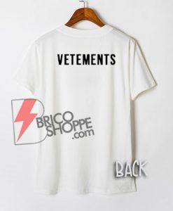 VETEMENTS Shirt On Sale
