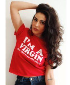 I'm-A-Virgin-(This-is-An-Old-Shirt)-T-Shirt---Funny-Shirt