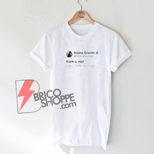 4f86eb81f ... Thank U, Next Pop art Ariana Grande Unisex Crewneck Sweatshirt Adult; Ariana  Grande Tweet Shirt ...
