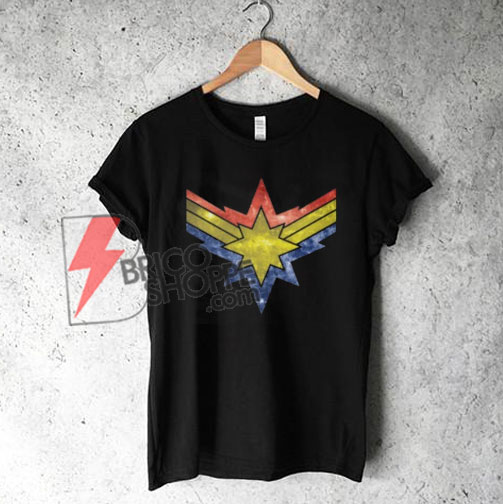 CAPTAIN-MARVEL---Punch-Holes-in-the-Sky-T-Shirt