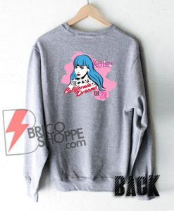California Dreams Tour 2011 Sweatshirt back