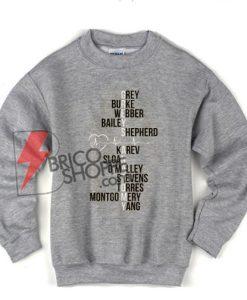 Grey Burke Webber Bailey Shepherd Sweatshirt On Sale
