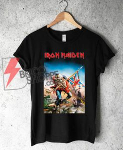 Iron-Maiden-Trooper-Poster-Shirt-On-Sale