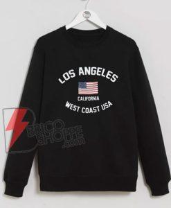 Los Angeles California West Coast USA Sweatshirt On Sale