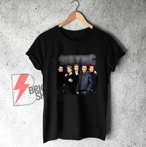 NSYNC-Boyband-T-Shirt-On-Sale
