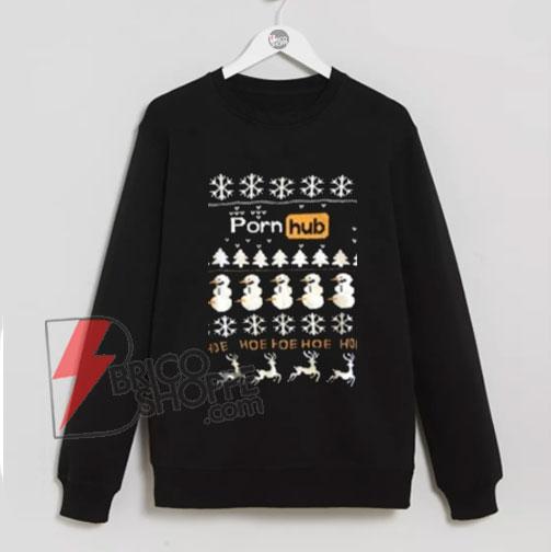 Porn-Hub-Christmas-Sweatshirt---Funny-Sweatshirt-Christmas