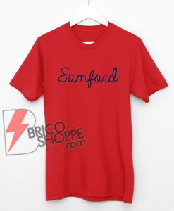 Samford Shirt - Samford University Bulldogs T-Shirt