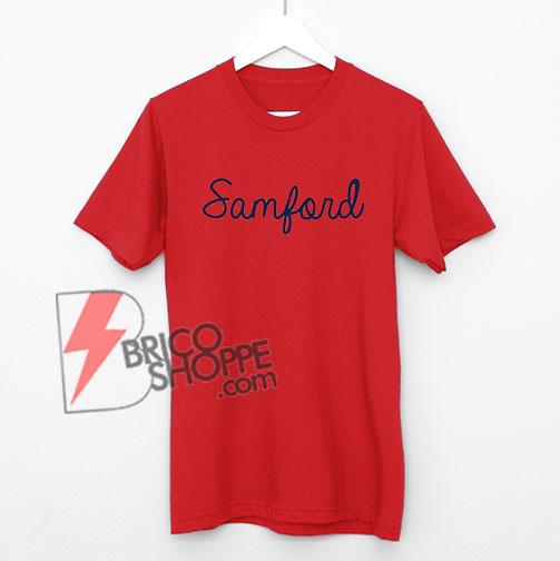 Samford Shirt - Samford University Bulldogs T-Shirt
