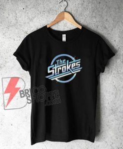 THE STROKES Shirt- TRANSFORMERS Shia LaBeouf T-Shirt