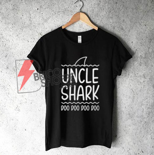 Uncle-Shark-Shirt,-Funny-Shirt-On-Sale