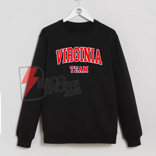 VIRGINIA Team Sweatshirt On Sale