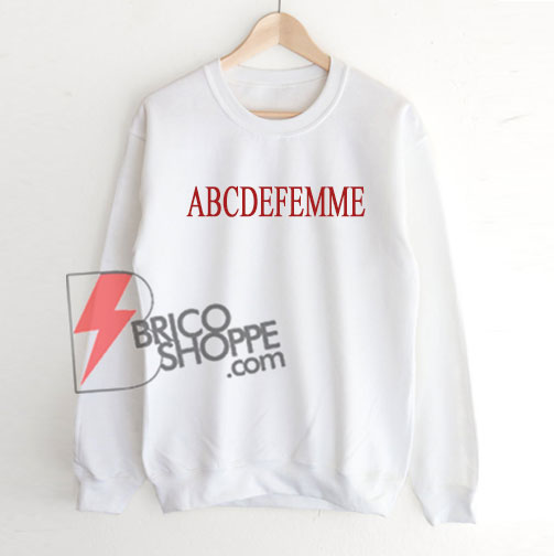 ABCDEFemme Sweatshirt On Sale
