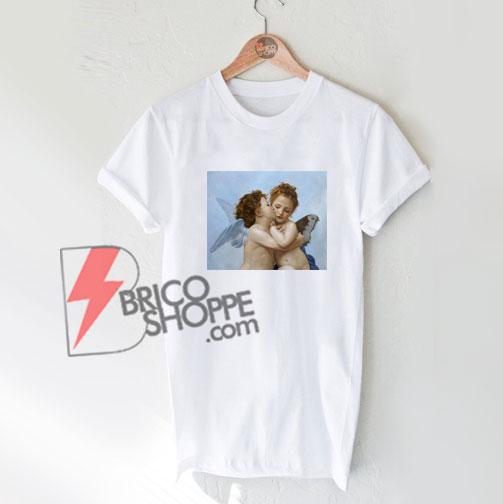 Baby-angel-kiss-Shirt---Funny-Baby-Angel-T-Shirt