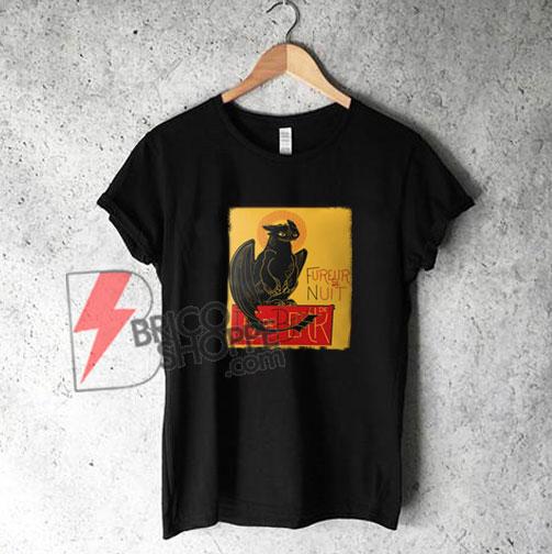 Fureur de Nuit - Fury of the Night T-Shirt