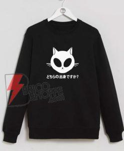 Kitty-Alien-Sweatshirt---Funny-Kitty-Alien-Sweatshirt