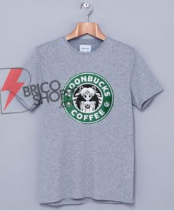 MOONBUCKS COFFEE T-Shirt - Sailor Moon Starbuck Shirt