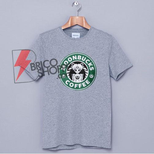 MOONBUCKS COFFEE T-Shirt - Sailor Moon Starbuck Shirt