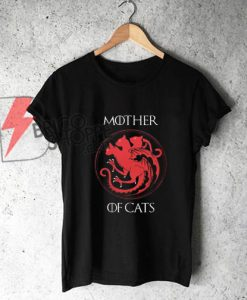 Mother of Cats T-Shirt On Sale