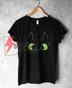 Night Fury Dragon Toothless Shirt - Funny Night Fury Shirt
