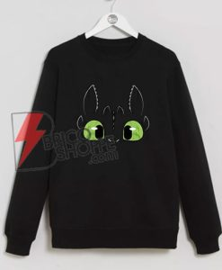 Night Fury Dragon Toothless Sweatshirt - Funny Night Fury Sweatshirt