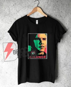 OBAMA CHANGE T-Shirt on Sale