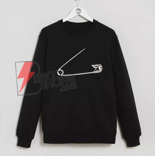 Sicherheitsnadel-Sweatshirt---Funny's-Sweatshirt-On-Sale