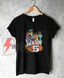 The-Jackson-5-cartoon-vintage