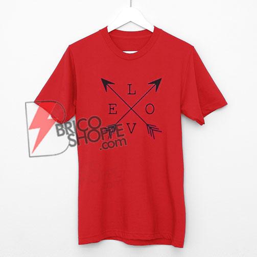 Love Arrow Shirt - Just Love Shirt - Funny's Valentine Shirt