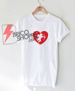 Cupid Heart T-Shirt - Funny's Valentine Shirt