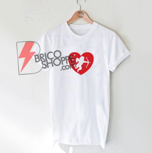 Cupid Heart T-Shirt - Funny's Valentine Shirt