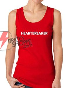 Heart Breaker Tank Top - Funny's Tank Top On Sale