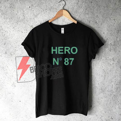 Hero-N-87-Logo-T-Shirt-On-Sale