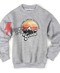 Keep the great outdoor Sweatshirt - Mountaineering Sweatshirt On Sale