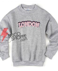 LONDON Sweatshirt On Sale