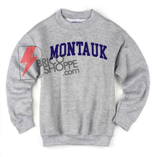 MONTAUK Sweatshirt - Funny's Sweatshirt On Sale