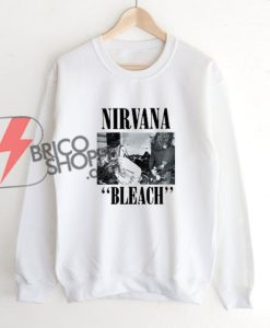 Nirvana-Bleach-Sweatshirt
