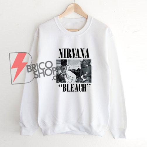 Nirvana-Bleach-Sweatshirt