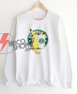Starbucks-Coffee-Pikachu-Ssweatshirt