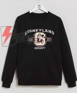 Vintage-DISNEYLAND-Grumpy-1937-Sweatshirt---Disney-Sweatshirt---Grumpy-Sweatshirt