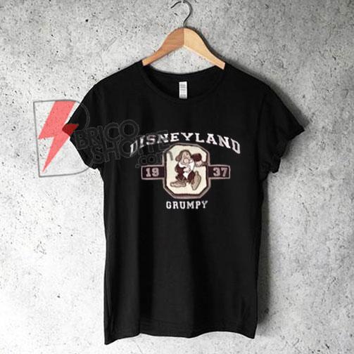 Vintage DISNEYLAND Grumpy 1937 T-Shirt - Disney T-Shirt - Grumpy T-Shirt