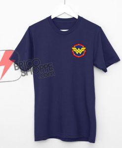 Wonder Woman T-Shirt - Funny Wonder Woman Logo Shirt