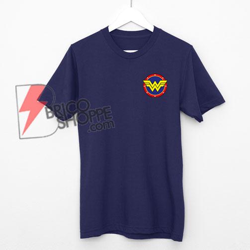 Wonder Woman T-Shirt - Funny Wonder Woman Logo Shirt