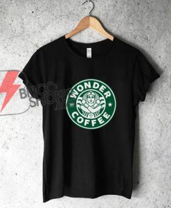 Wonder-Woman-starbuck-Shirt---Funny-Wonder-Woman-Shirt---Parody-Shirt-On-Sale