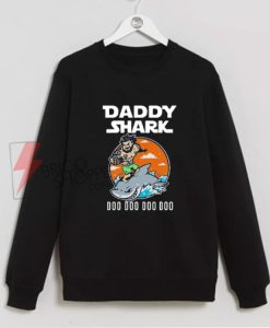 Aquaman-Daddy-Shark-Doo-Doo-Doo-Sweatshirt