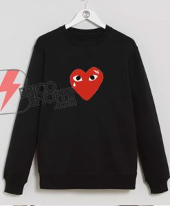 Coeur-comme-des-garcons-Sweatshirt