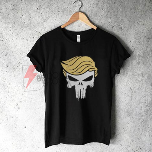 Donald Trump Punisher Shirt - Funny's Shirt On Sale