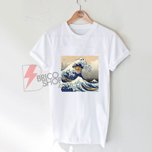 Great Wave of Cookie Shirt - Funny's Shirt On Sale