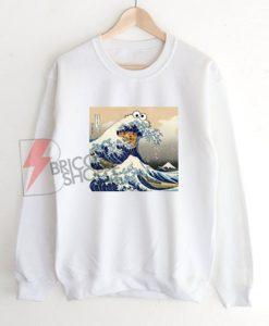 Great-Wave-of-Cookie-Sweatshirt